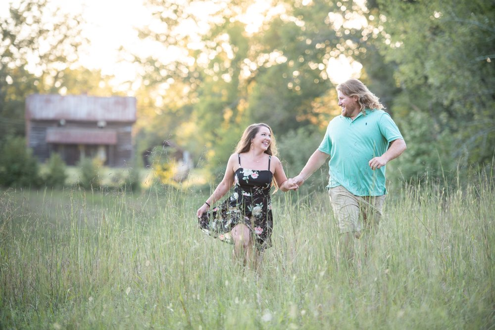 NC Engagement - Engagement Ideas - Engagement Poses - NC Photographer - NC Weddings - Outdoor engagement - Sunset Engagement - Golden Hour - NC Wedding Photographer -7.jpg