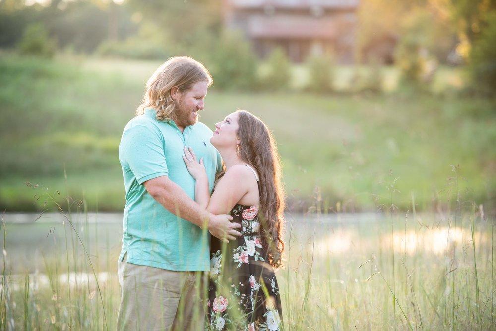 NC Engagement - Engagement Ideas - Engagement Poses - NC Photographer - NC Weddings - Outdoor engagement - Sunset Engagement - Golden Hour - NC Wedding Photographer -8.jpg