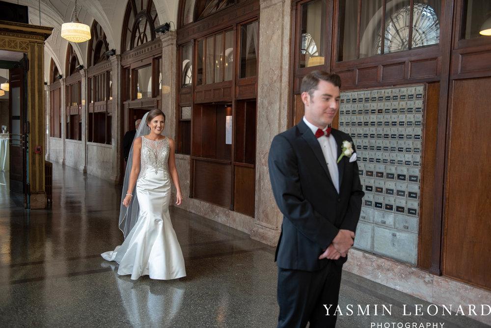 Millennium Center Wedding - Downtown Winston Salem - Winston Salem Wedding Photographer - Winston Salem Venues - Indoor Wedding Venues - NC Wedding Photographer - Yasmin Leonard Photography-17.jpg