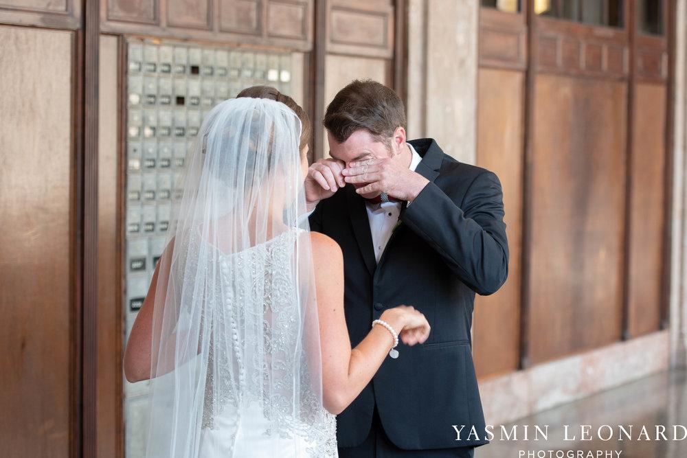 Millennium Center Wedding - Downtown Winston Salem - Winston Salem Wedding Photographer - Winston Salem Venues - Indoor Wedding Venues - NC Wedding Photographer - Yasmin Leonard Photography-22.jpg
