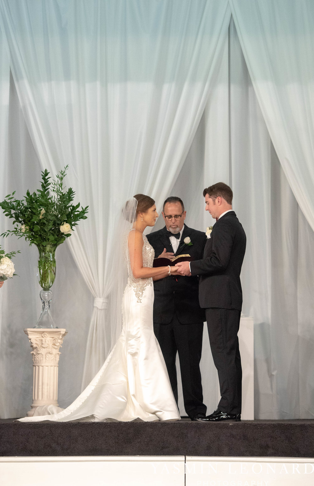 Millennium Center Wedding - Downtown Winston Salem - Winston Salem Wedding Photographer - Winston Salem Venues - Indoor Wedding Venues - NC Wedding Photographer - Yasmin Leonard Photography-41.jpg