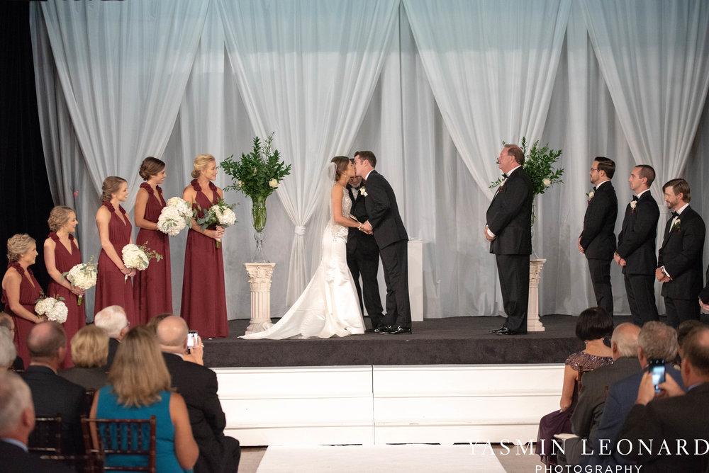 Millennium Center Wedding - Downtown Winston Salem - Winston Salem Wedding Photographer - Winston Salem Venues - Indoor Wedding Venues - NC Wedding Photographer - Yasmin Leonard Photography-42.jpg