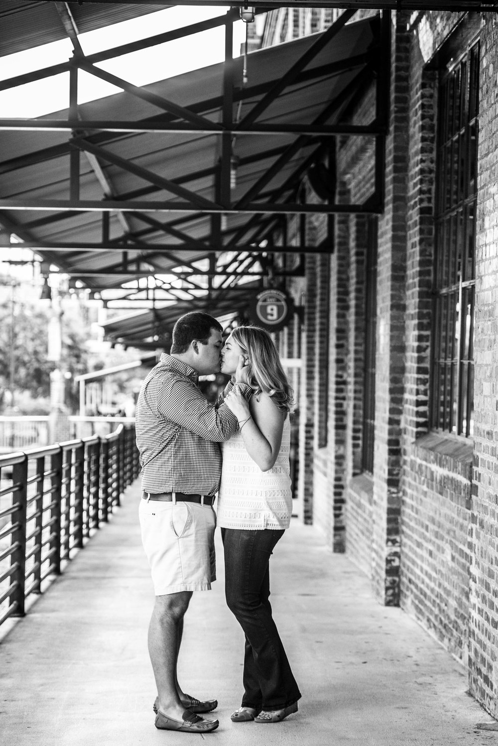 American Tabacco Campus - American Tabacco Company - Durham NC - Durham Engagement Session - NC Wedding Photographer - Engagement Session - NC Engagement - NC Weddings - Yasmin Leonard PHotography-4.jpg