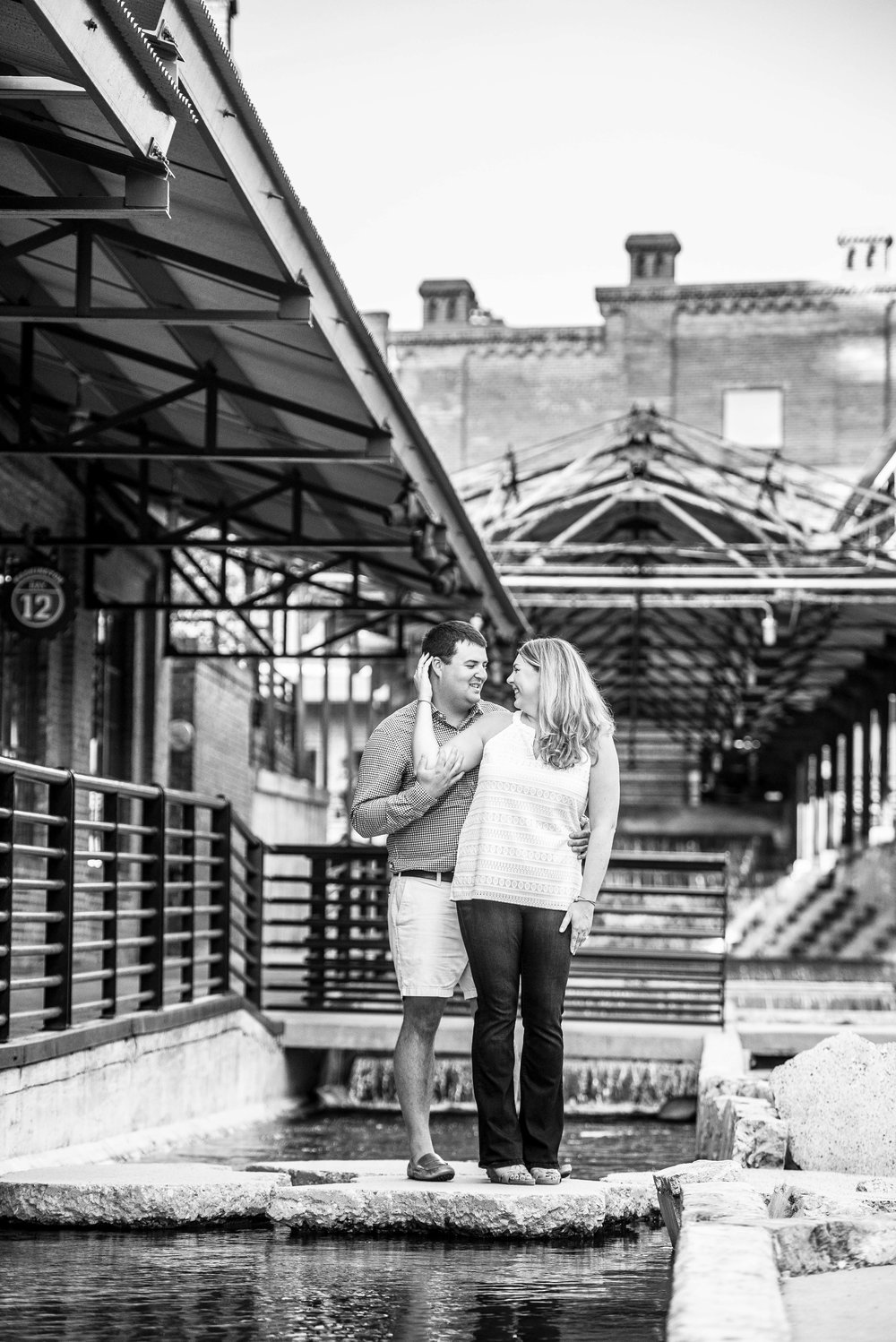 American Tabacco Campus - American Tabacco Company - Durham NC - Durham Engagement Session - NC Wedding Photographer - Engagement Session - NC Engagement - NC Weddings - Yasmin Leonard PHotography-5.jpg