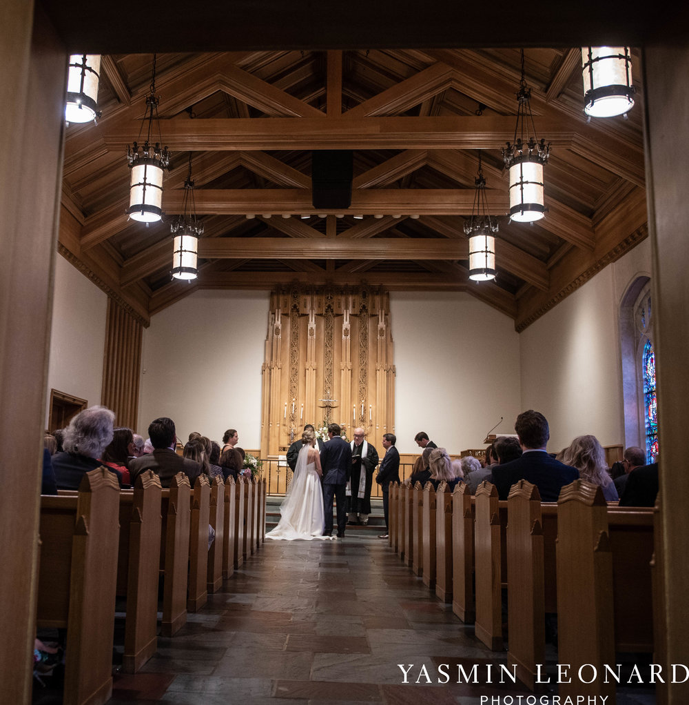 Wesley Memorial United Methodist Church - EmeryWood - High Point Weddings - High Point Wedding Photographer - NC Wedding Photographer - Yasmin Leonard Photography-27.jpg