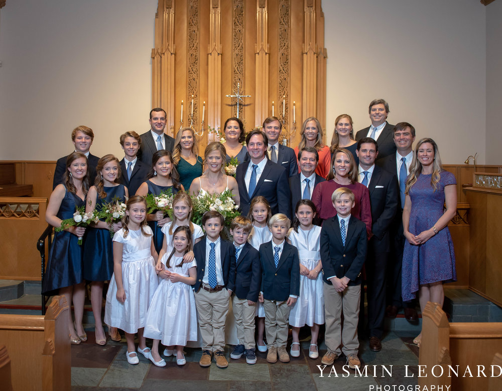 Wesley Memorial United Methodist Church - EmeryWood - High Point Weddings - High Point Wedding Photographer - NC Wedding Photographer - Yasmin Leonard Photography-31.jpg