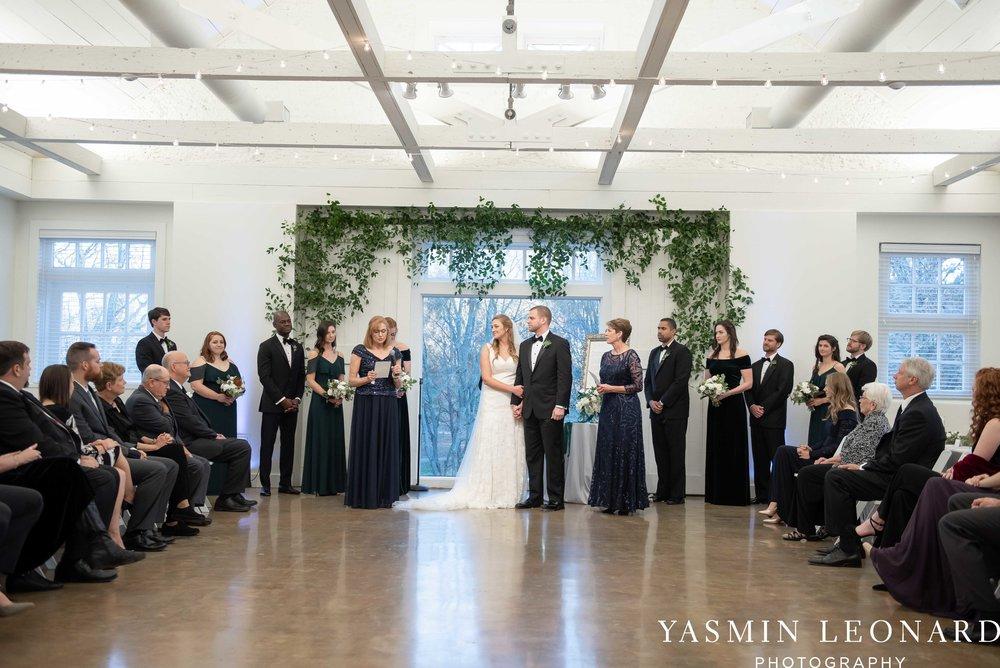 Barn at Reynolda Village - Winston Salem Wedding - White and Green Wedding - NC Wedding - NC Barns - Yasmin Leonard Photography-59.jpg