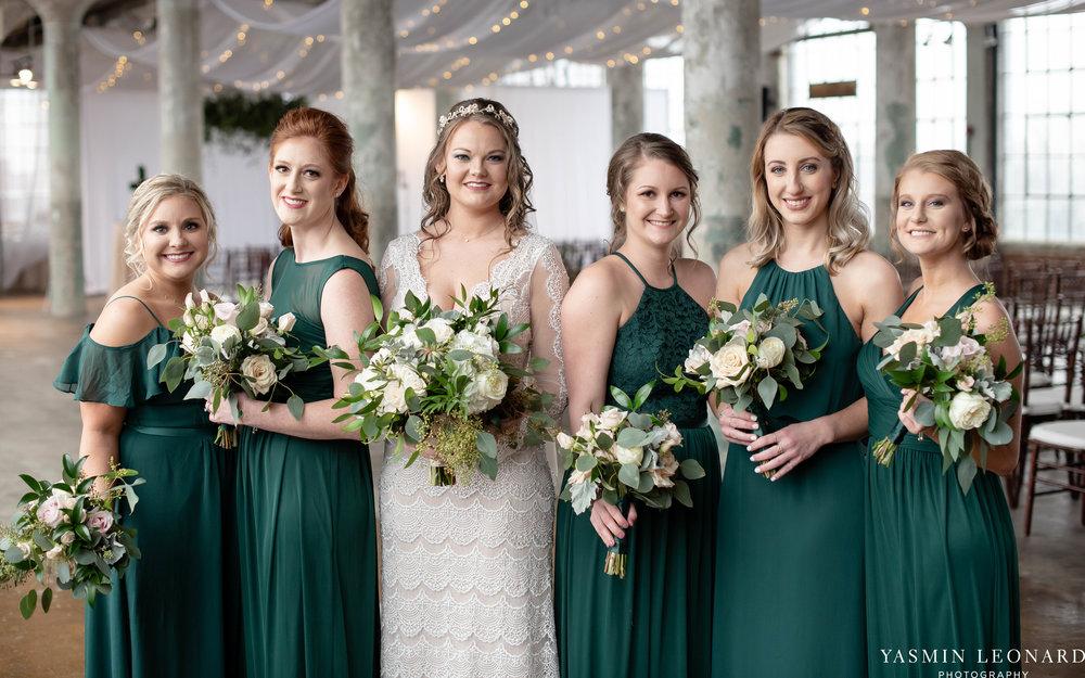 The Lofts at Union Square - Unions - High Point Weddings - NC Weddings - NC Wedding Photographer - Yasmin Leonard Photography - Just Priceless - Green Pink and Gold Wedding - Elegant Wedding-17.jpg
