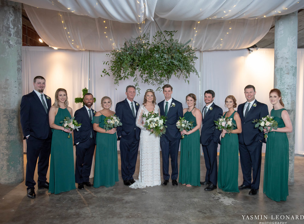 The Lofts at Union Square - Unions - High Point Weddings - NC Weddings - NC Wedding Photographer - Yasmin Leonard Photography - Just Priceless - Green Pink and Gold Wedding - Elegant Wedding-29.jpg