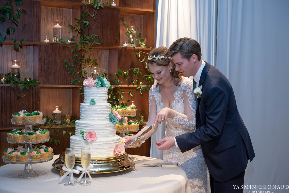 The Lofts at Union Square - Unions - High Point Weddings - NC Weddings - NC Wedding Photographer - Yasmin Leonard Photography - Just Priceless - Green Pink and Gold Wedding - Elegant Wedding-43.jpg