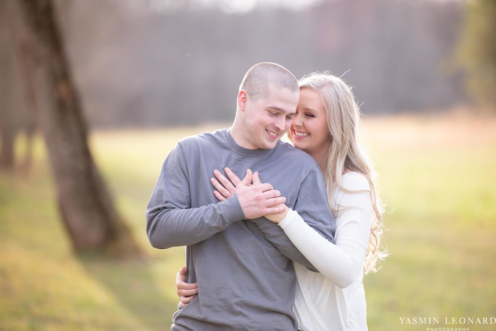 Luna Trail Engagement Session - NC Barns - NC Venues - NC Photographer - NC Country Wedding - Engagement Session Ideas - Engagement Photos - E-Session Photos - Yasmin Leonard Photography-6.jpg