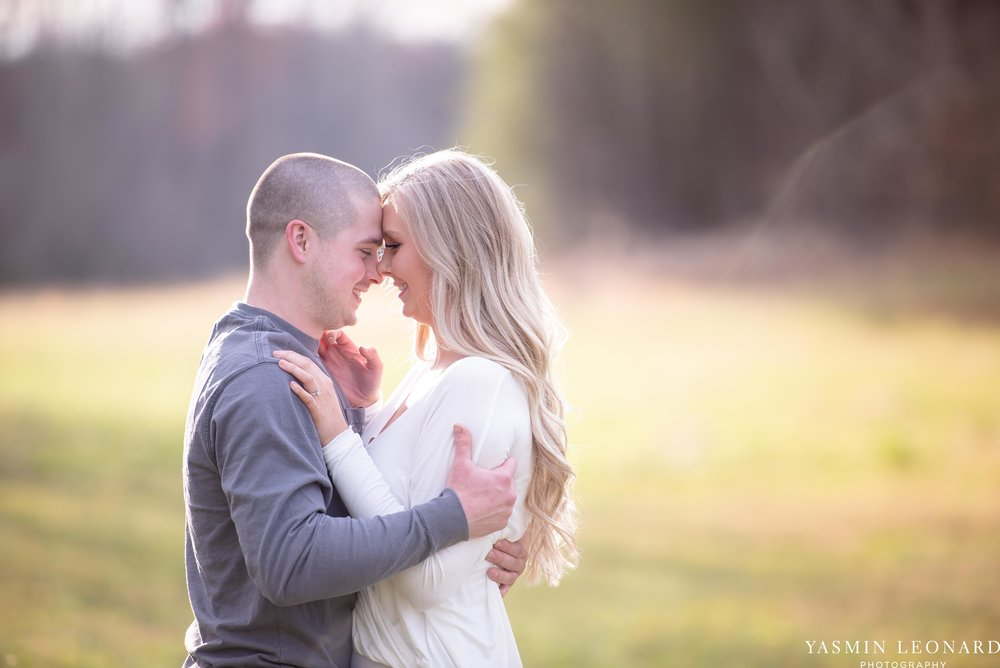 Luna Trail Engagement Session - NC Barns - NC Venues - NC Photographer - NC Country Wedding - Engagement Session Ideas - Engagement Photos - E-Session Photos - Yasmin Leonard Photography-7.jpg