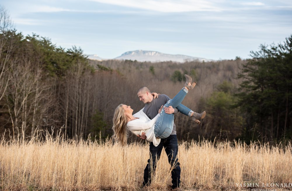 Luna Trail Engagement Session - NC Barns - NC Venues - NC Photographer - NC Country Wedding - Engagement Session Ideas - Engagement Photos - E-Session Photos - Yasmin Leonard Photography-9.jpg