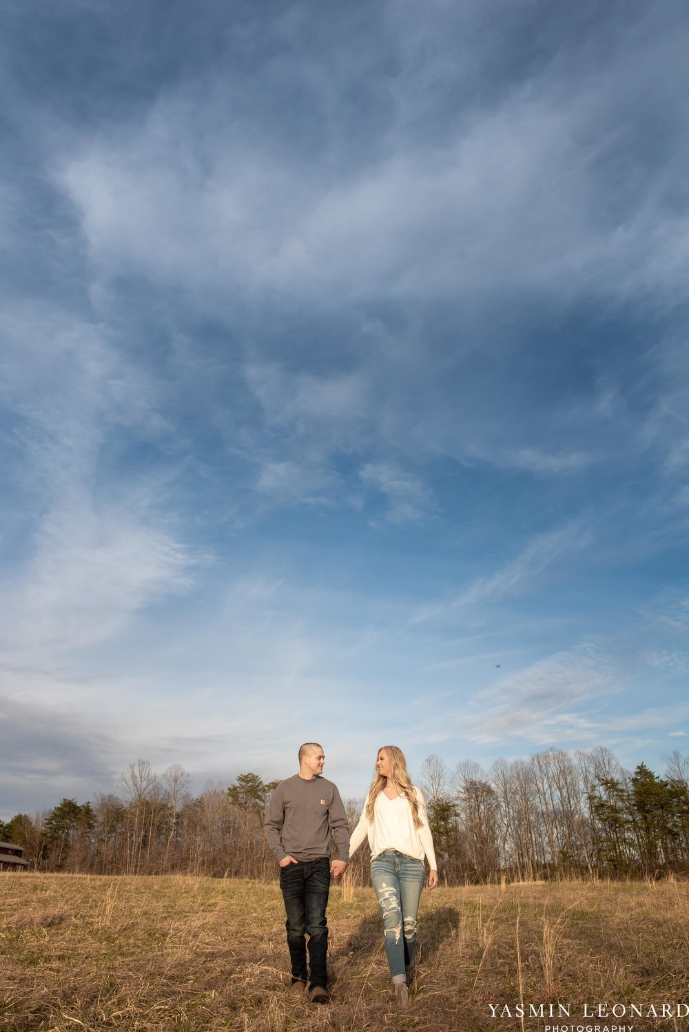 Luna Trail Engagement Session - NC Barns - NC Venues - NC Photographer - NC Country Wedding - Engagement Session Ideas - Engagement Photos - E-Session Photos - Yasmin Leonard Photography-12.jpg