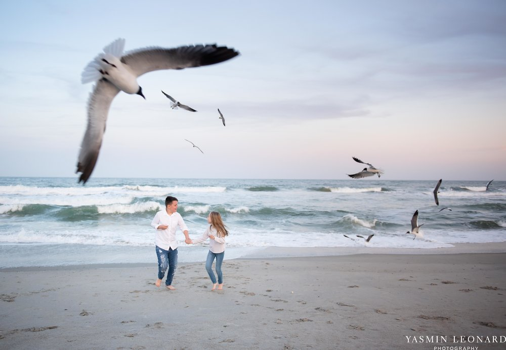 Sibling Beach Pictures - Caorlina Beach Portraits - Kure Beach Portraits - Sibling Beach Pictures - Family Pictures at the Beach - Seaguls and Children - Summer Picture Ideas - Sibling Poses-1.jpg