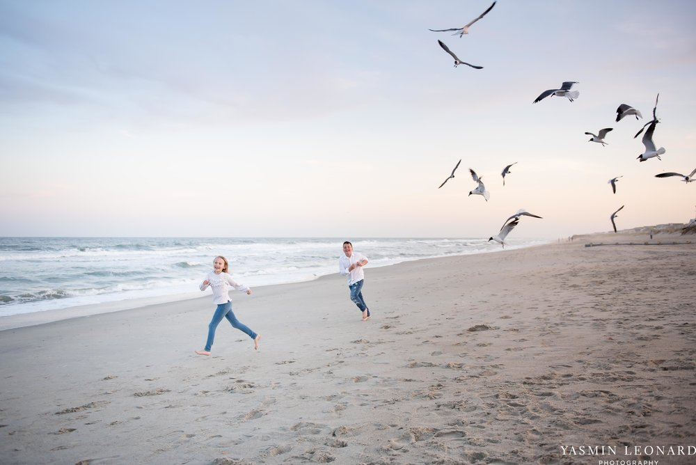Sibling Beach Pictures - Caorlina Beach Portraits - Kure Beach Portraits - Sibling Beach Pictures - Family Pictures at the Beach - Seaguls and Children - Summer Picture Ideas - Sibling Poses-2.jpg