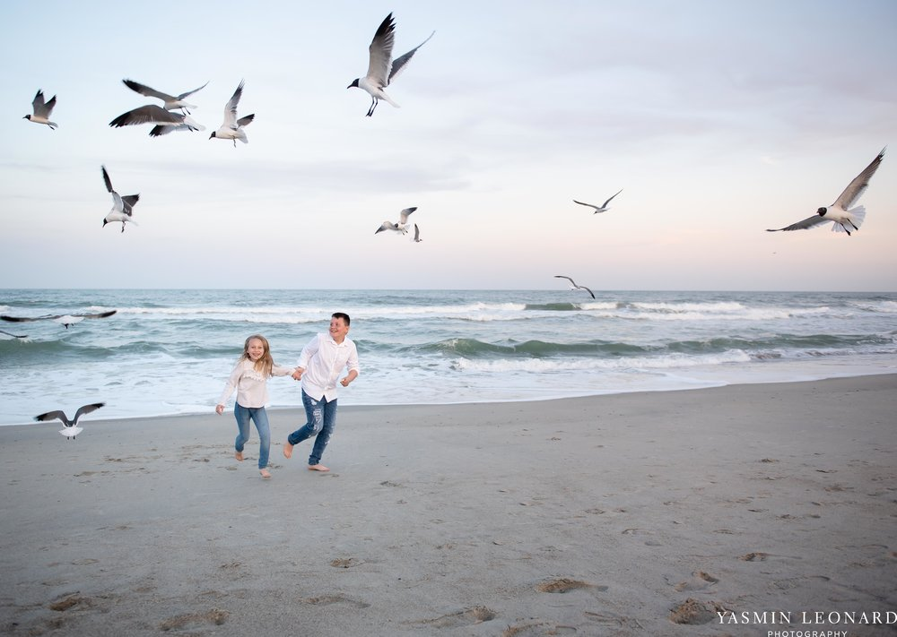 Sibling Beach Pictures - Caorlina Beach Portraits - Kure Beach Portraits - Sibling Beach Pictures - Family Pictures at the Beach - Seaguls and Children - Summer Picture Ideas - Sibling Poses-6.jpg