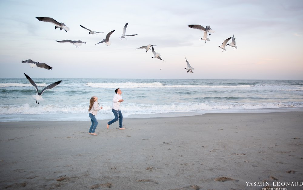 Sibling Beach Pictures - Caorlina Beach Portraits - Kure Beach Portraits - Sibling Beach Pictures - Family Pictures at the Beach - Seaguls and Children - Summer Picture Ideas - Sibling Poses-5.jpg