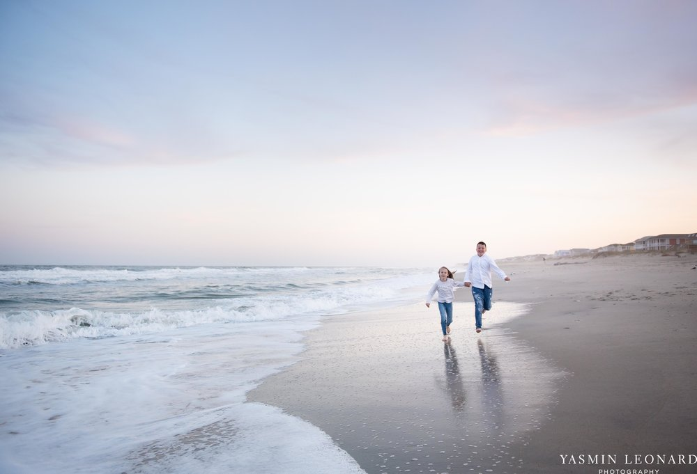 Sibling Beach Pictures - Caorlina Beach Portraits - Kure Beach Portraits - Sibling Beach Pictures - Family Pictures at the Beach - Seaguls and Children - Summer Picture Ideas - Sibling Poses-9.jpg