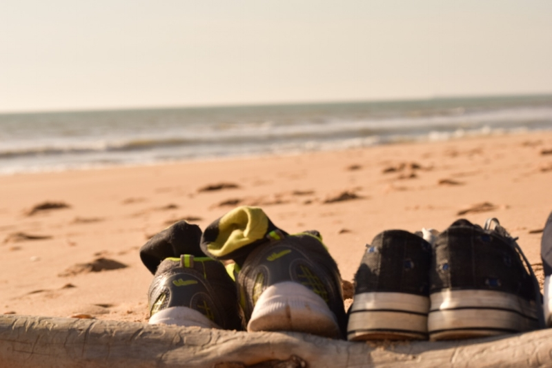 kick off your shoes and take a walk along the amazing beaches around huelva