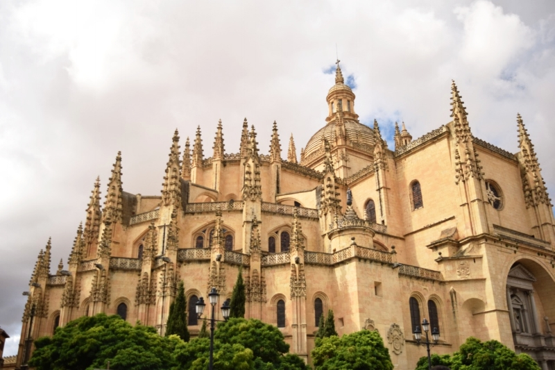 The old town of Segovia—including the Cathedral, aqueduct and Alcazar—is a World Heritage Site.