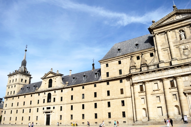 The Escorial, an impressive palace built between 1563-1584, is the most important architectural monument of the Spanish Renaissance.