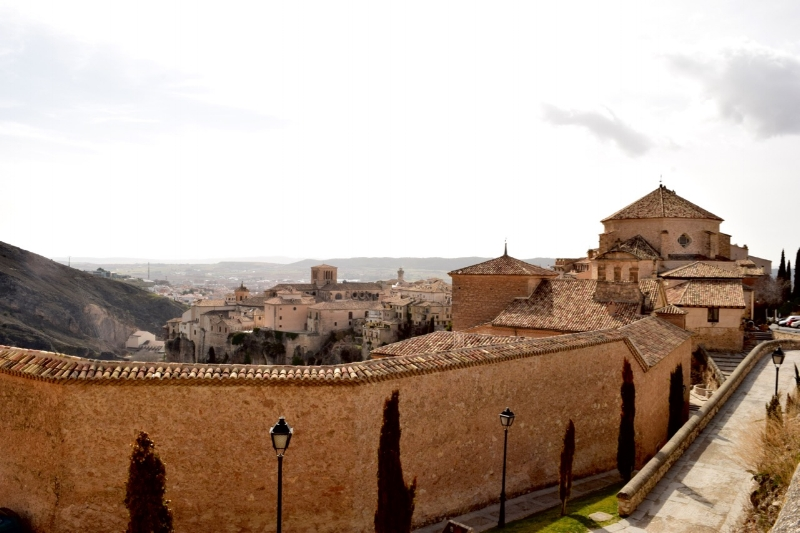 From the highest portion of the wall you get a view of Cuenca and the valley beyond.