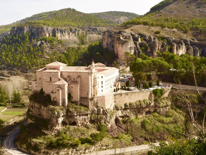 If you are looking for a room fit for a King, the Parador in Cuenca is your place.