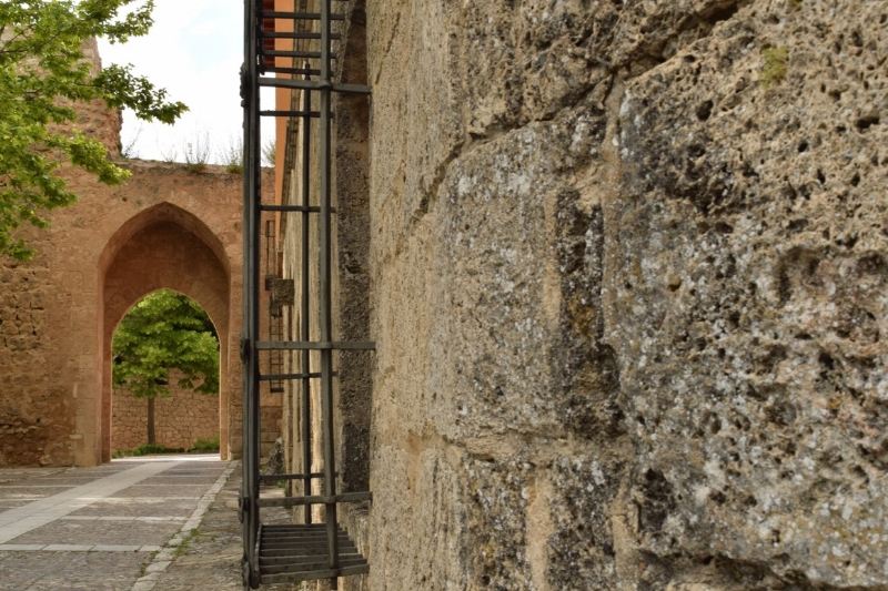More than 2 kilometres of the original walls are still standing in Briguega
