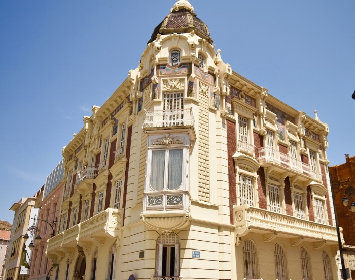 Walking around Cartagena gives you the chance to see the architectural designs.