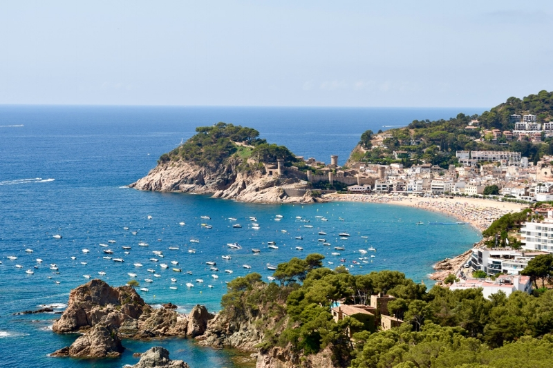 Tossa de Mar is a historic town full of charm.