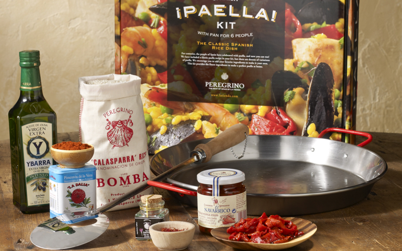 Impress your friends and family with a homemade paella. Photo courtesy LaTienda