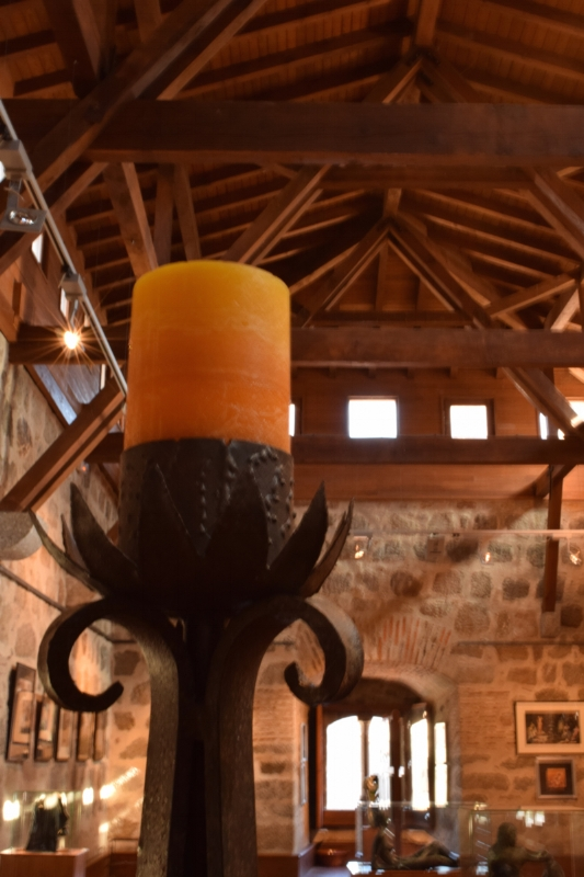 Inside the castle of Don Álvaro de Luna