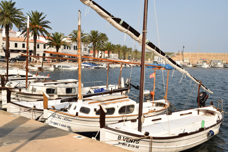 Everything from fishing boats and small sailing boats to cruise ships and luxury yachts are moored in the ports of Spain.