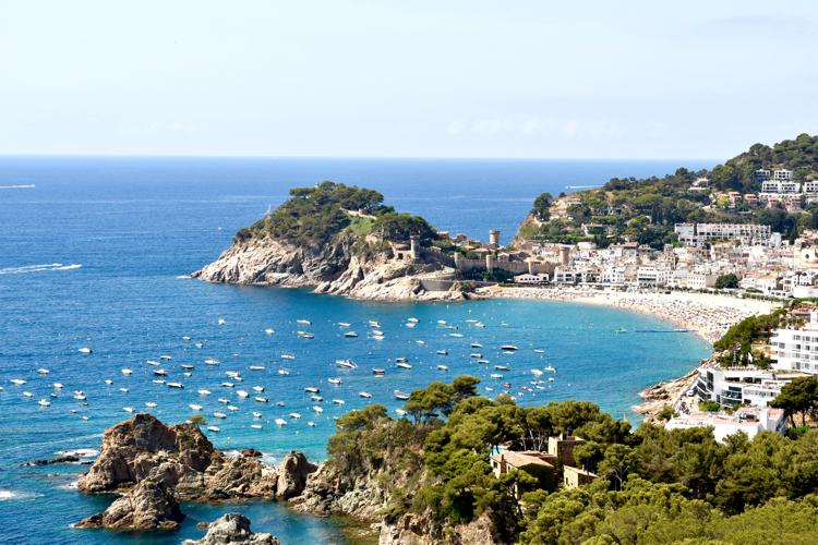 Tossa de Mar is a charming beach town