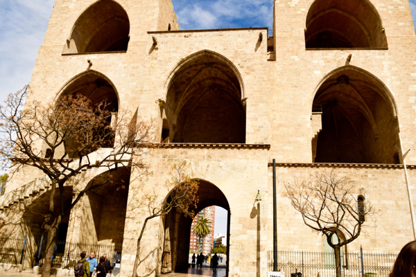 For almost 1000 years this was the main gate for people coming to Valencia.