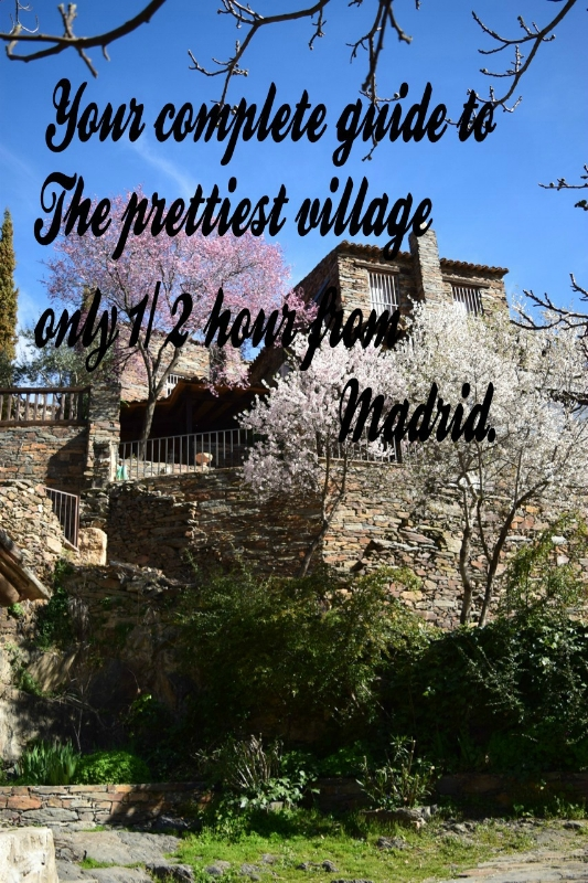 Picturesque Patones is only 1/2 hour from Madrid.
