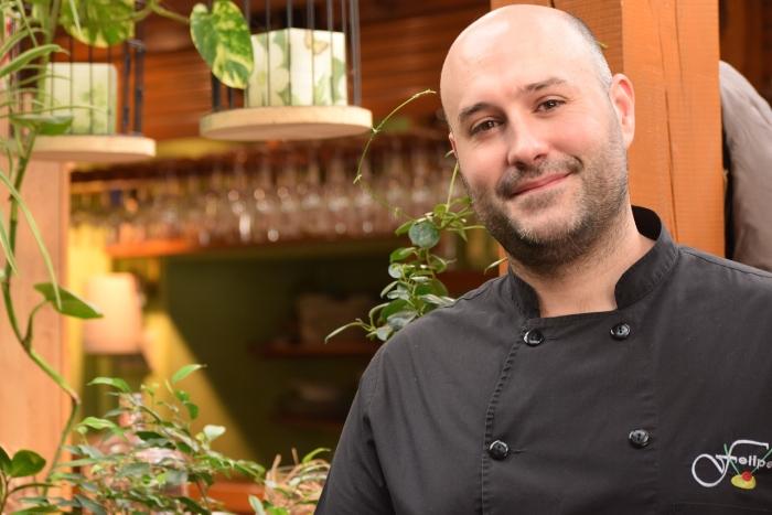Felipe del Olmo is the 2nd generation in charge of Restaurante Terraza Jardín Felipe restaurant in Navacerrada