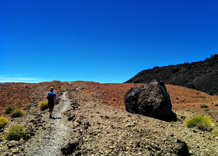 Teide National Park on the Tenerife Island