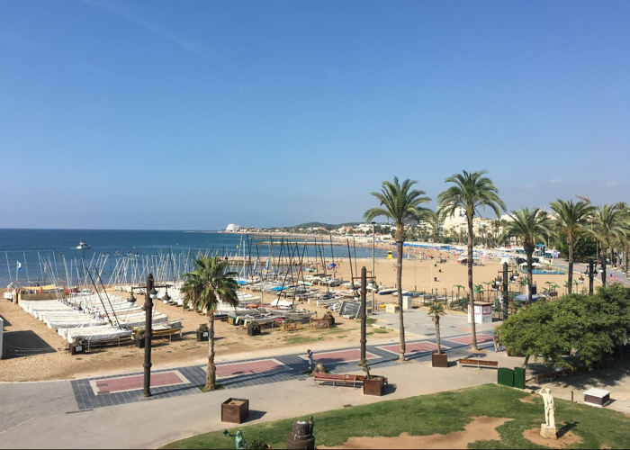 With 3 kilometers of beach it is no wonder Sitges is a popular escape from Barcelona.