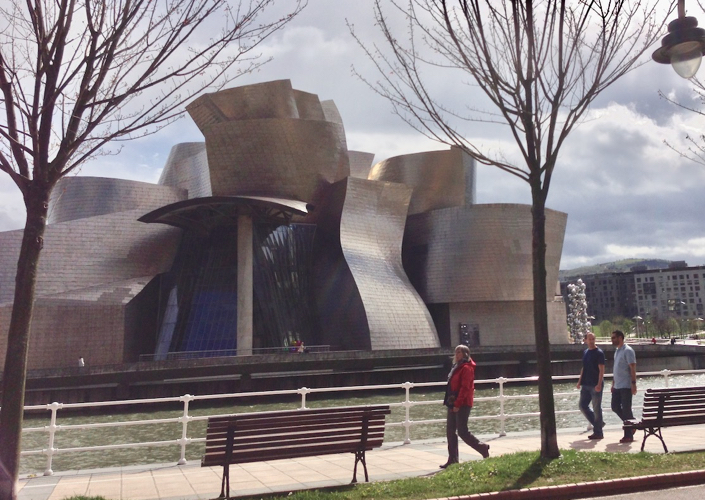 The Guggenheim Museum is just one of the many reasons to visit beautiful Bilbao.