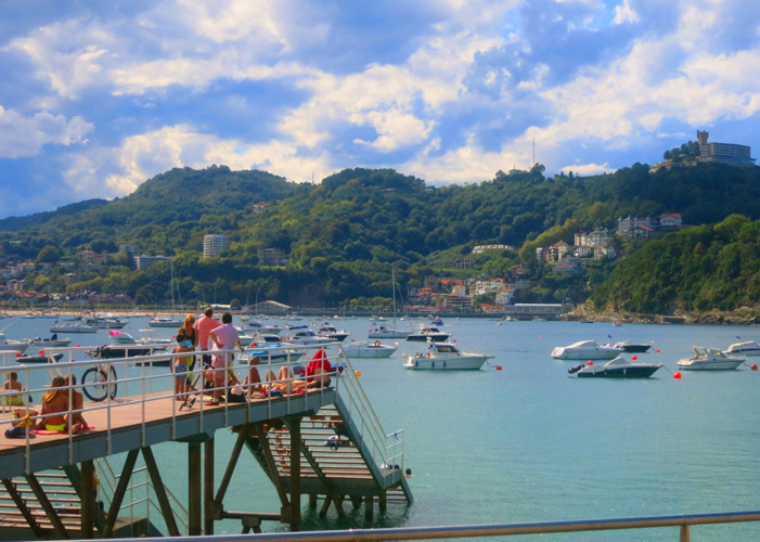 Outdoor lovers will not be disappointed in San Sebastian.