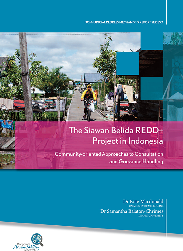 REDD+ forestry project in Indonesia