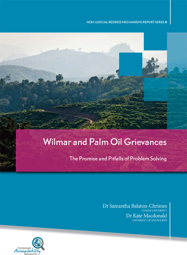 Wilmar (Palm Oil) in Indonesia