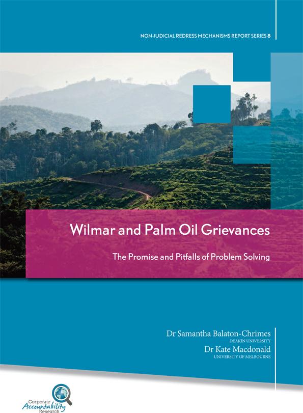 Wilmar dan persoalan minyak sawit