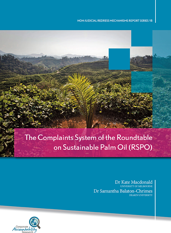 Roundtable on Sustainable Palm Oil Complaints System