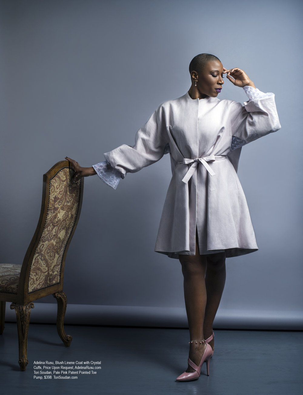Aisha Hinds in Regard Magazine