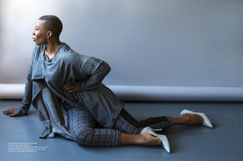 Aisha Hinds in Regard Magazine