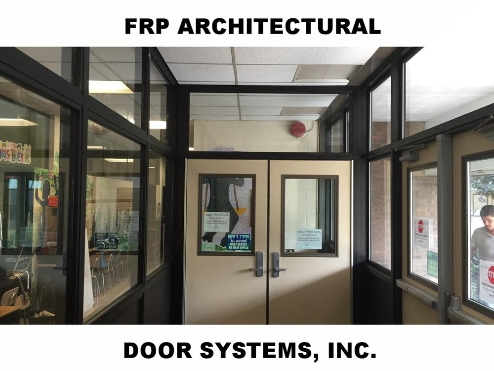 FRP ARCHITECTURAL DOOR SYSTEMS
