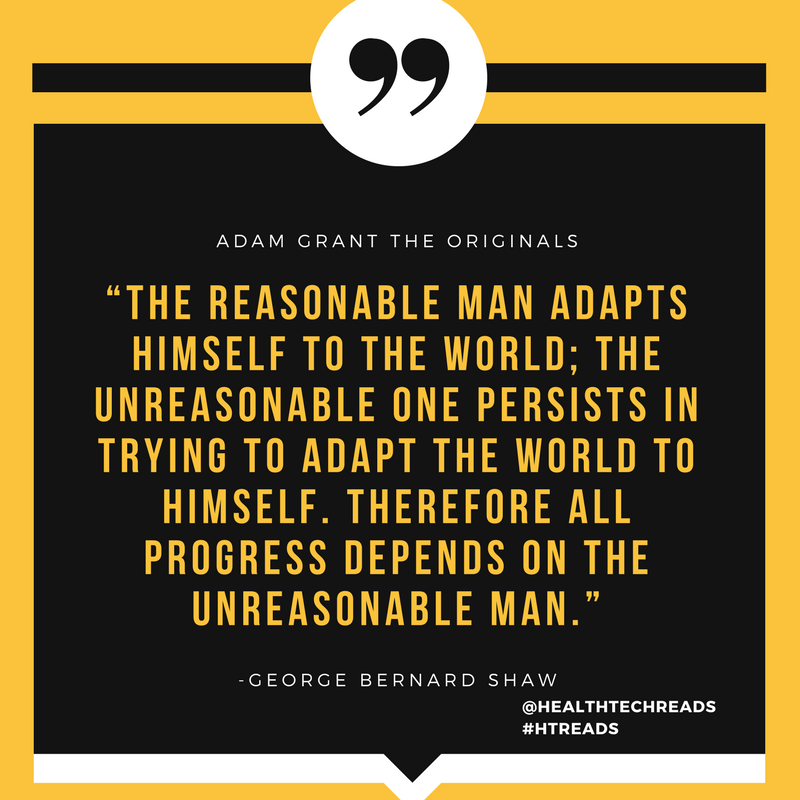 """The reasonable man adapts himself to the world; the unreasonable one persists in trying to adapt the w.png"